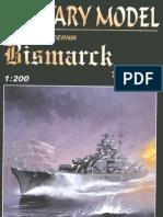 [Paper Model] [Ship-Boat] Battleship DKM Bismarck