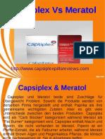 Capsiplex Vs Meratol