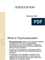 4- PSYCHOEDUCATION
