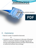 e Commerce s