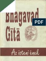 Bhagavad Gitá - Az Isteni ének - ford. Gömöryné Maróthy Margit (Magyar Teozófiai Társulat ) 1924