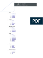 jQuery EasyUI Documentation
