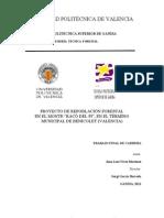 PROYECTO DE REPOBLACIÓN FORESTAL EN EL MONTE RACÓ DEL PI, EN EL TÉRMINO MUNICIPAL DE BENICOLET (VALENCIA)