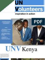 UNV_Kenya Newsletter September 2012