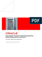 Exadata-Weiss1--Oracle Exadata Database Machine Architecture