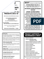 Software Project Titles Book 2012-13 - DotNET IEEE Projects