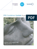 New IRIS Guidelines 2012 - Early Intervention in Psychosis