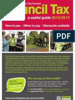 Nottingham Council Tax Guide
