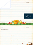 Fall Recipe Cards from Gooseberry Patch