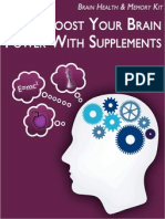 Memory Supplements Free Bonus