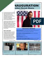 Obama Inauguration Handout
