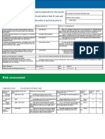 Risk Assessment and Policy Template[1] New