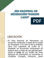 ÁREA NACIONAL DE RECREACIÓN