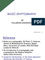 Basic Cryptography Presentation