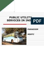 Msrtc public utility