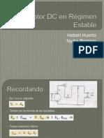 Motor DC en Régimen Estable