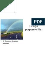 Living a Purposeful Life (JUTH)