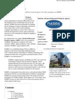 DARPA - Wikipedia, The Free Encyclopedia