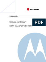 Motorola SURFboard SB6141 Cable Modem User Guide