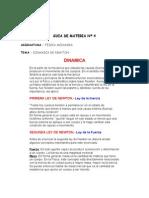 Guia de Materia Dinamica de Newton