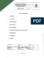 RHB-PR-002 Identificacion e Ingreso del Usuario Hospitalizado y Ambulatorio al Servicio de Rehabilitacion
