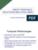 MQF Sistem Kredit Bengkel Ipg