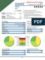 XLV Predictive ETF Rating 2012-10-05