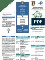 Tríptico Congreso de Extensión 2012