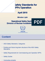 IAEA Safety Standards - Operational Safety