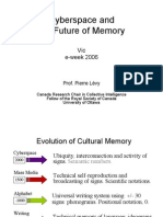 Cyberspace and the Future of Memory