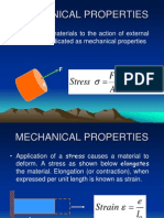 properties of matarials