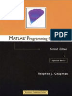 Matlab programming for Enginnering