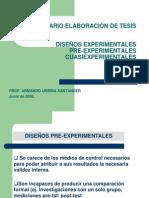 AUS Diseño de experimentos segunda clase