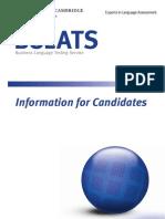 Bulats Candidate Handbook