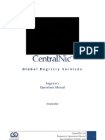 CentralNic Operations Manual