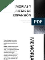MEMORIAS Y TARJETAS DE EXPANSIÓN