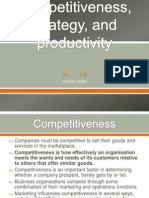 2-Competitiveness, Strategy, And Productivity