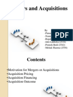 FRA - Mergers & Acquisitions
