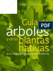 Guia de árboles y otras plantas nativas en la zona metropolitana de Monterrey