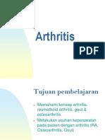 Arthritis, Rheumatoid Arthritis, Gout, Osteoarthritis