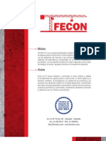 Catalogo FECON