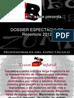 Repertorio KAZUMBO 2012
