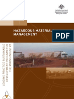 Hazardous Materials Managment Handbook