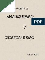Anarquismo y Cristianismo