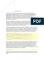 Practica SELinux