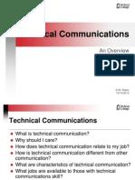 Tech Communications an Overview