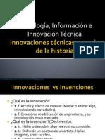 Información e Innovación Técnica Bloque I Parte 1