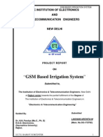 59759661 GSM Based Irrigation System