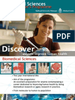 BiomedBical Sciences Master Program