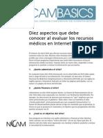 Guia de Evaluacion de Sitios Medicos